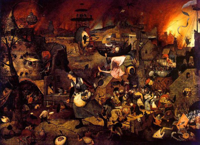 romantikken krig maleri